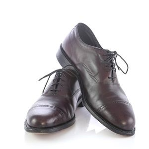 Footjoy Classics Burgundy Cap Toe Oxfords Shoes